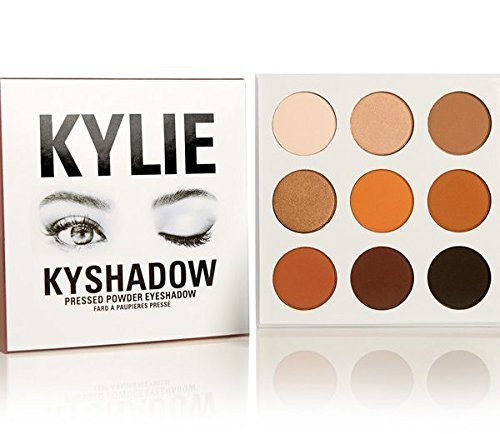 New Kylie Jenner Kyshadow Bronze Palette Eye Shadow Assorted Colors
