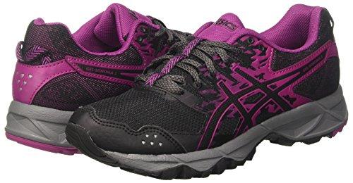 Course Pour Asics Gel De 9032 Chaussures sonoma Black Noir 3 black Femmes Baton Trail Rouge q5gaxw