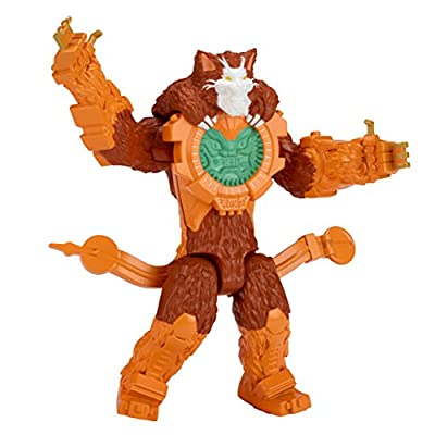 Power Rangers Ninja Steel - 5-Inch Villain Cat O'Clock Figure: Toys & Games