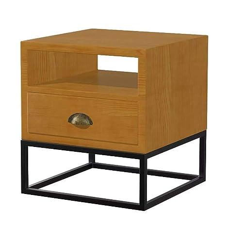 Amazon.com: XIAODONG Retro de madera maciza salón sofá mesa ...