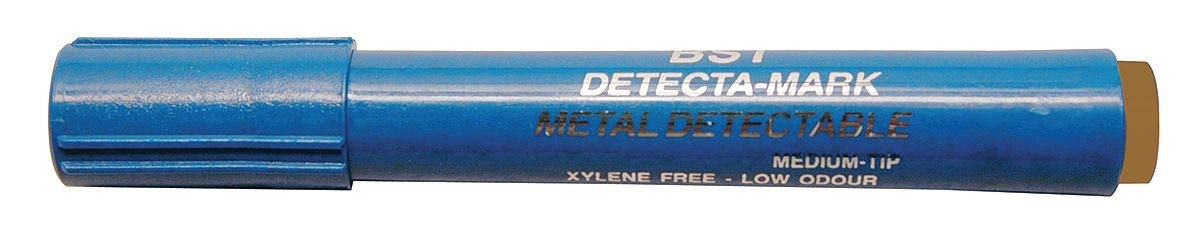 Detectapro Metal Detectable Highlighter with Orange Ink PK10 - HLPENOR by Detectapro (Image #1)