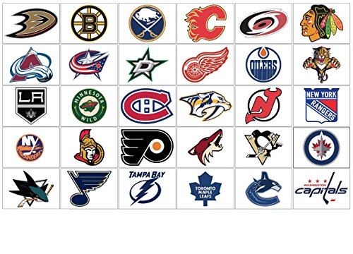 NHL Eastern Conference Wall Decals - Check Out Which Teams ...