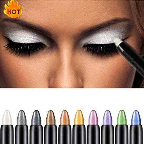 Eyeshadow Pencil, CYCTECH Big Smokey Eyes Shimmer Eye Shadow Stick Jumbo Eye Shadow Eye Liner Pencil