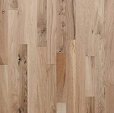 """White Oak #3 Common Unfinished Solid Wood Flooring 2 1/4"""" x 3/4"""" Samples at Discount Prices by Hurst Hardwoods"""