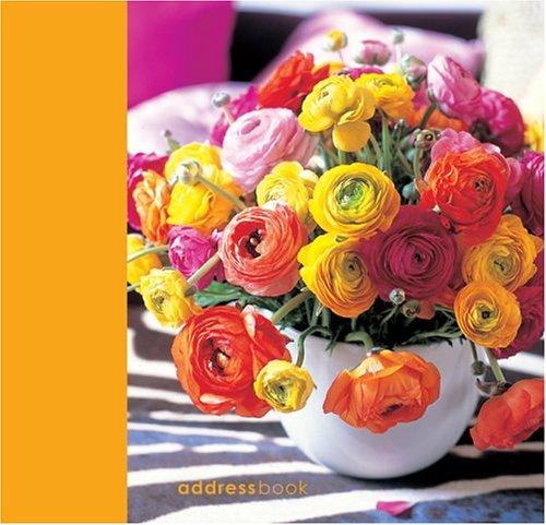 Flowers Address Book (Simple Chic Flowers Address Book)