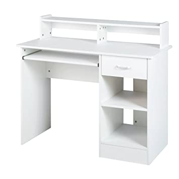 White Home Office Computer Desk Small Office Desk Work Table Furniture on white office chair, glass office desk furniture, simple home office furniture, luxury home office furniture, mahogany office desk furniture, student desk furniture, corner home desk furniture, home office room furniture, modern bedroom furniture, white desks for home office, table desk furniture, black home office furniture, corner computer desk furniture, executive office desk furniture, white office furniture collections, white computer desk furniture,