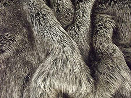 LIGHT WOLF Super Luxury Faux Fur Fabric Material