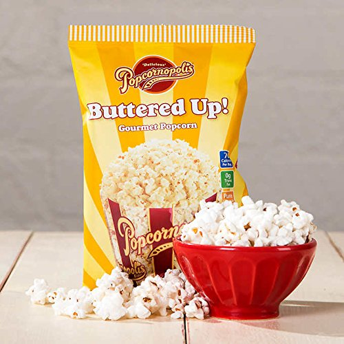 Popcornopolis Buttered-Up Popcorn 0.55 oz, 40-count