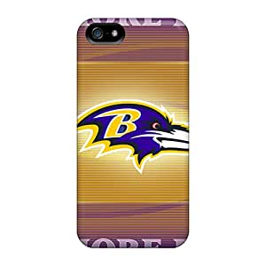 Great Cell-phone Hard Covers For Apple Iphone 5/5s (TtC21714Acnt) Allow Personal Design HD Baltimore Ravens Skin