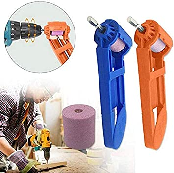 2Pack Drill Bit Sharpening Tool Portable Diamond Drill Bit Grinder for Drill Dit High Hardness Sharpener Diamond Hand Tool