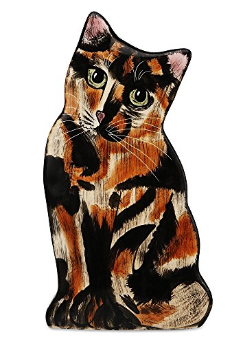 Rescue Me Now Pavilion Gift, Small Tortoise Shell Cat Vase, 8-1/2-Inch Tall