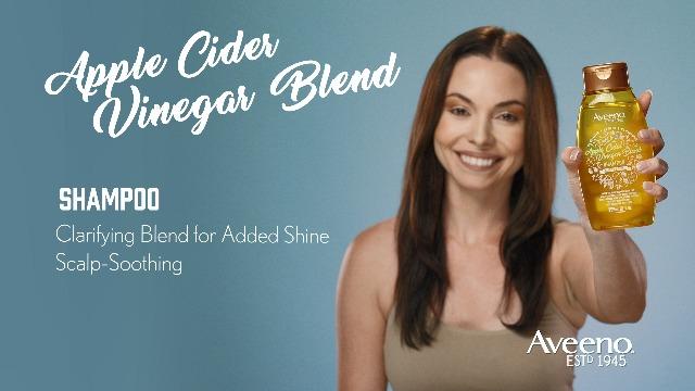 Aveeno Scalp Soothing Apple Cider Vinegar Blend Shampoo, 12 Ounce