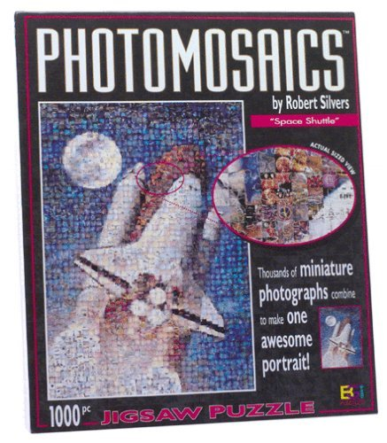 Space Shuttle Photomosaics Jigsaw Puzzle by Robert Silvers by Photomosaics