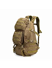 Wowelife Military Backpacks Tactical Backpack for Men Molle Bug Out Bags Waterproof Army Rucksacks for Hiking Hunting Trekking Camping