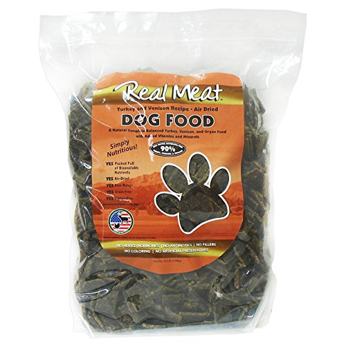 Real Meat Company Air Dried Turkey & Vension Dog Food, 10-lb Bag by The Real Meat Company
