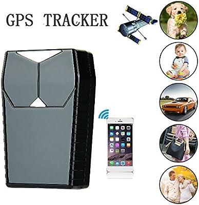 Hangang GPS Para Coche gPS Traker Rastreador GPS para vehículos, GT001 Rastreador magnético en tiempo real pequeño Localizador de dispositivos GPS para ...