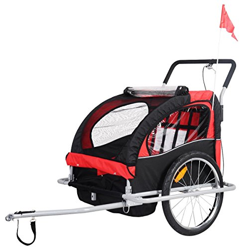2 1 Child Trailer Bicycle Carrier