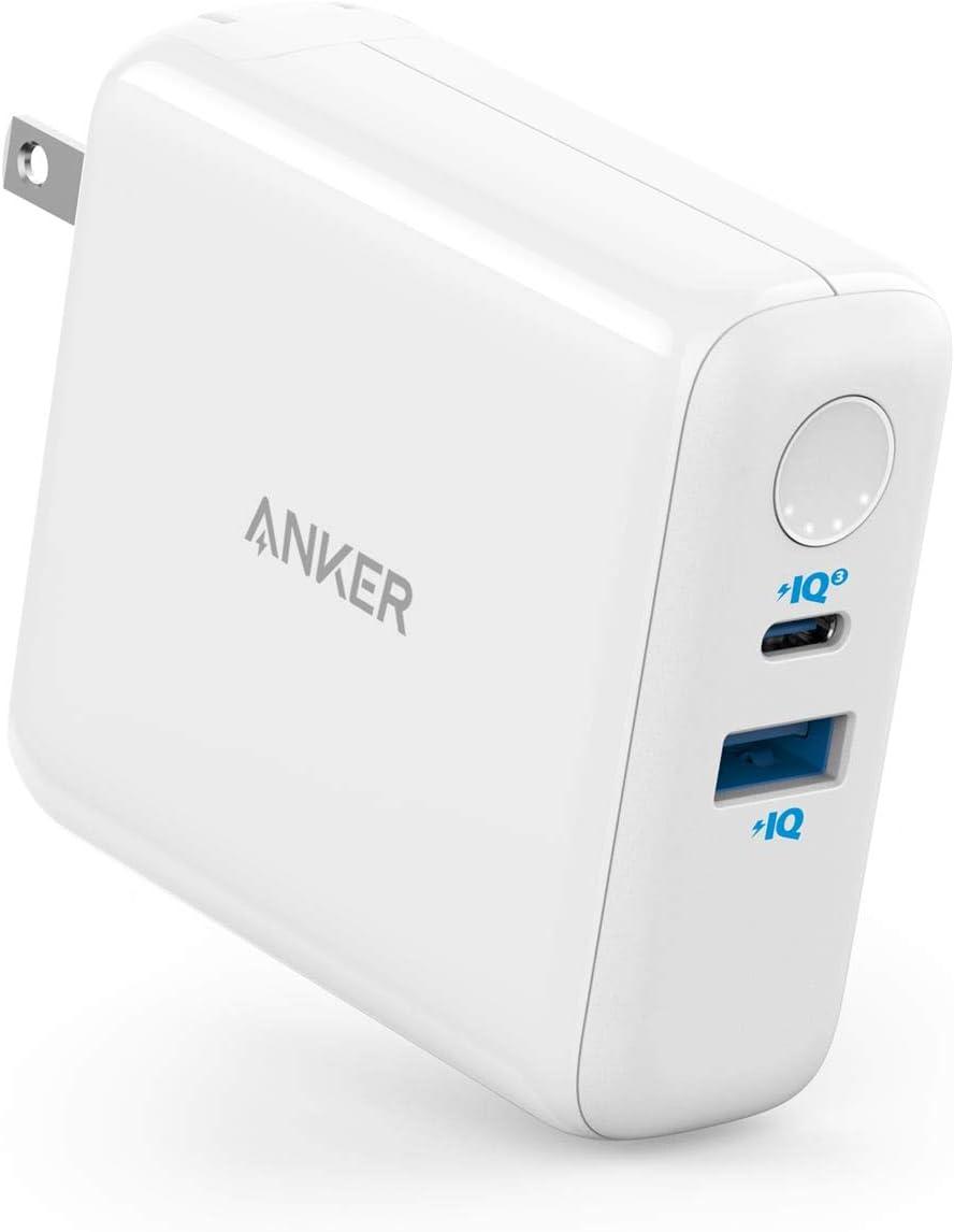 Anker PowerCore III Fusion 5000(PD対応 18W USB-C モバイルバッテリー搭載USB充電器 4850mAh)