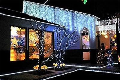 PYSICAL®®® 110V 2-Wire Waterproof LED Rope Light Kit for Background Lighting,Decorative Lighting,Outdoor Decorative Lighting,Christmas Lighting,Trees,Bridges,Eaves