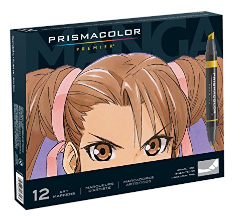 prismacolor-premier-double-ended-art-markers-fine-and-chisel-tip-manga-colors-12-count