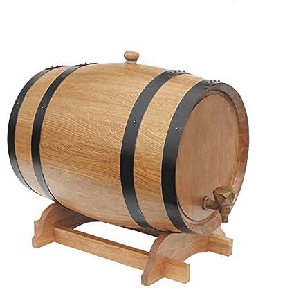 Bon 10L Oak Barrels Internal Baking Wooden Barrels For Storage Or Aging Wine U0026  Spirits