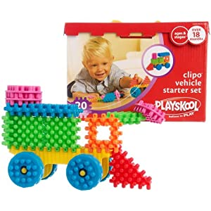Playskool 20-pc. Clipo Vehicle Starter Set MULTI