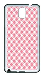 Samsung Note 3 Case Chevron Stripe Pink Pattern TPU Custom Samsung Note 3 Case Cover White doudou's case wangjiang maoyi
