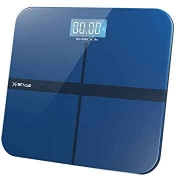 X-Sense Digital Bathroom Scale Body Weight Scales with Step-On ...