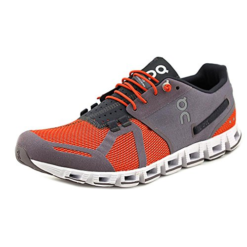 ON Cloud Road Running Shoes Olive/Flame Mens squalo/ruggine