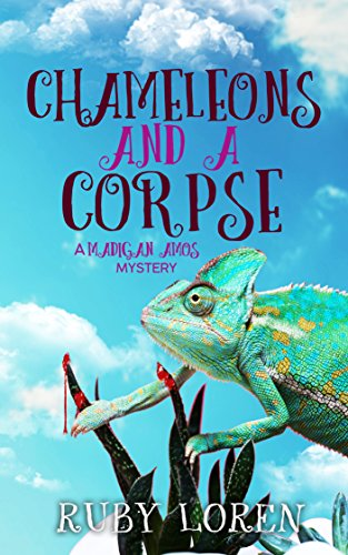 Zoo Magnet - Chameleons and a Corpse: Mystery (Madigan
