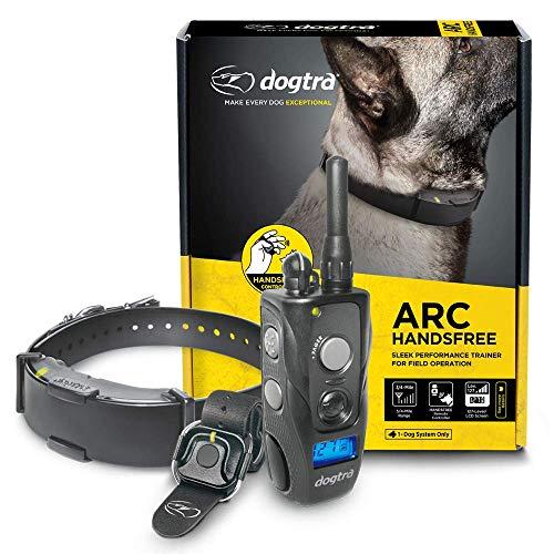 Dogtra ARC HANDSFREE Slim Ergonomic 3/4-Mile Remote Dog Training E-Collar with HANDSFREE for Discreet and Precise Control
