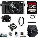 Panasonic LUMIX LX100 4K & Leica Lens (Black) (Basic Bundle)