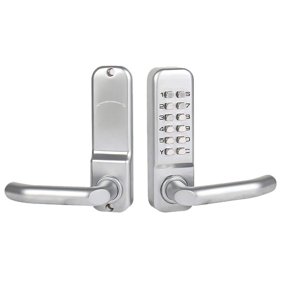 GAOPIN Smart lock Password Door Locks Digital Mechanical Code Keypad Password Keyless Door Lock Zinc Alloy Waterproof