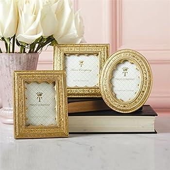 5ded8e27c39 Amazon.com - Set of 3 Gold Leaf Photo Frames Includes 3 Different ...