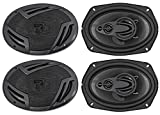 "(4) Rockville RV69.4A 6x9"" 4-Way Car Speakers 2000 Watts/440w RMS CEA Rated"
