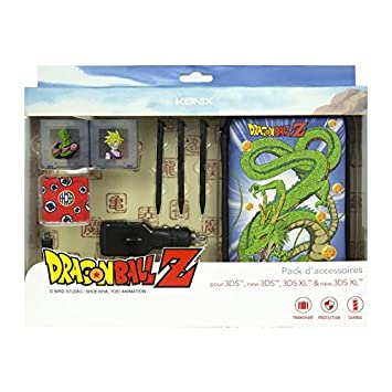Konix Pack de Accesorios Dragon Ball Z para 3DS, New 3DS, 3DS XL & New 3DS XL (Shenron)