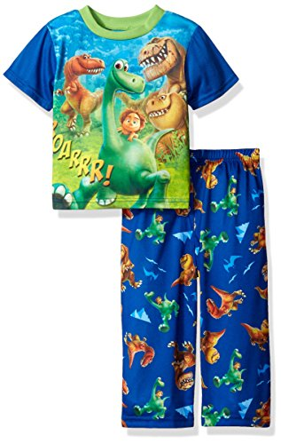 Disney Toddler Boys' the Good Dino 2pc Pajama Pant Set, Blue, 2T