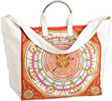 Echo Design Women's Sundial Large Square Tote, Lacquer Red, One Size, Bags Central