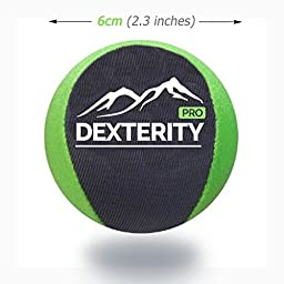 Soft Squeeze Stress Ball Dexterity PRO for Hand Flexibility, Stress Relief, Joint Mobility and Finger Strengthening