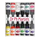 Dr. Ph. Martin's 800941-XXX  Spectralite Private Collection Liquid Acrylics Bottles, 0.5 oz, Set of 12 (Set 1)