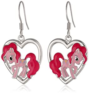 my pony earrings my pony silver plated 2798
