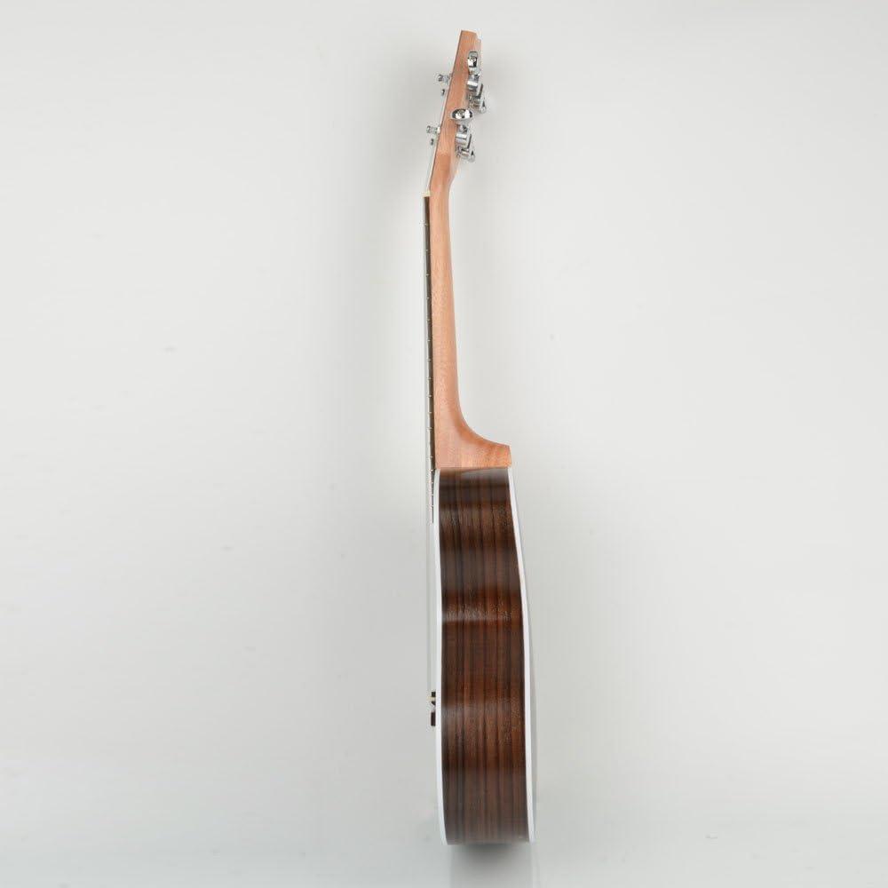 23 inch Concert Kasch MUH-507 23 Inch Concert Exquisite Rosewood Ukulele,for Beginner Music Lover