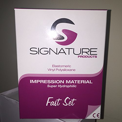 Signature Impression Material Fast Set VPS Heavy with 6 Mixing Tips