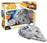 Revell Star Wars Solo Build & Play Model Kit with Sound & Light Up 1/164 Millennium Fal