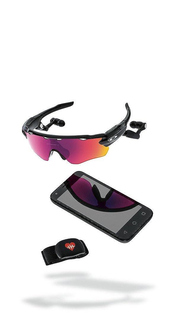 daf2e25e32 Oakley Radar Pace Gafas de sol, Matte Black, 1 para Hombre: Amazon.es: Ropa  y accesorios