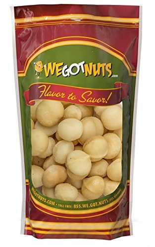 We Got nuts Raw Macadamia Nuts Whole & Unsalted - One (1) Lb. Bag - Freshly Sealed, - Raw Macadamia