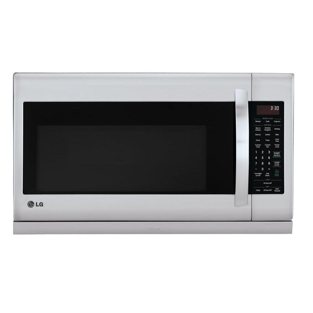 LG LMH2235ST2.2 Cu. Ft. Stainless Steel Over-the-Range Microwave