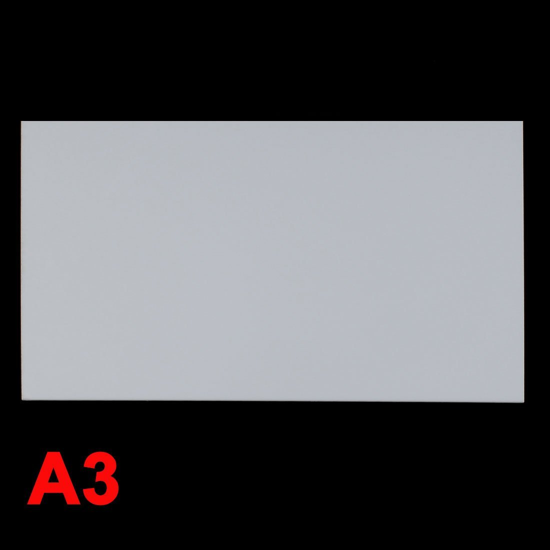 3mm White Plastic Acrylic Plexiglass Perspex Sheet A3 Size 297mmx420mm DealMux DLM-B00YBMRDYY