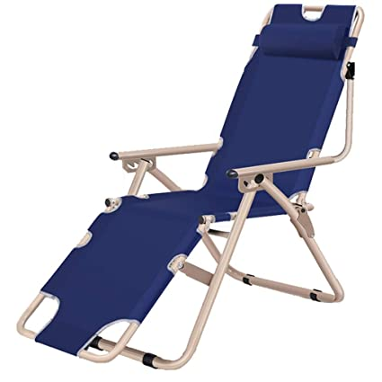 Amazon.com: Silla reclinable plegable ajustable para patio o ...