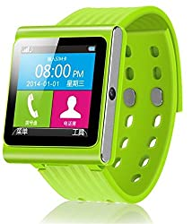 Smartwatch Phone,watch Phone,an Independent Mini Mobile Phone +Fm Radio +Pedometer Function(green)